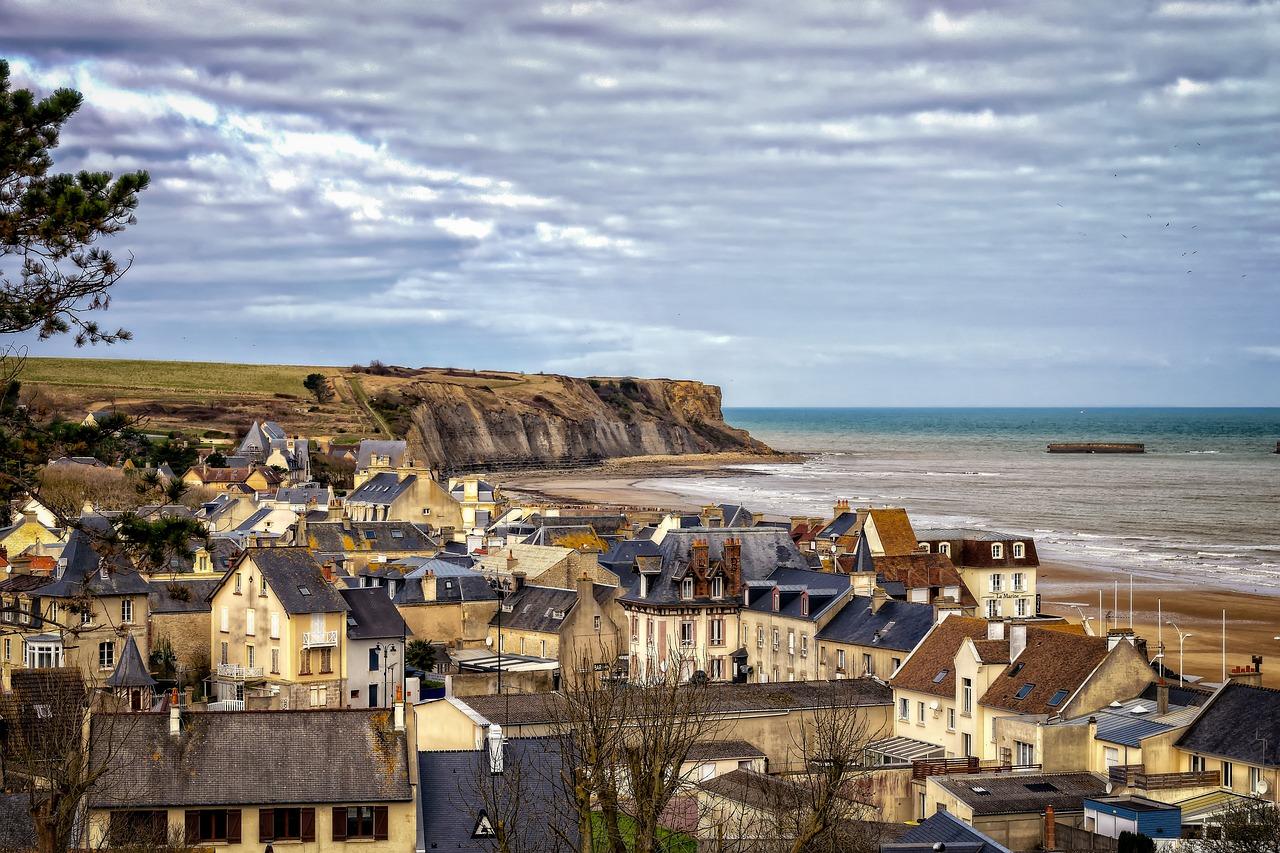 Les grandes architectures de la Normandie.